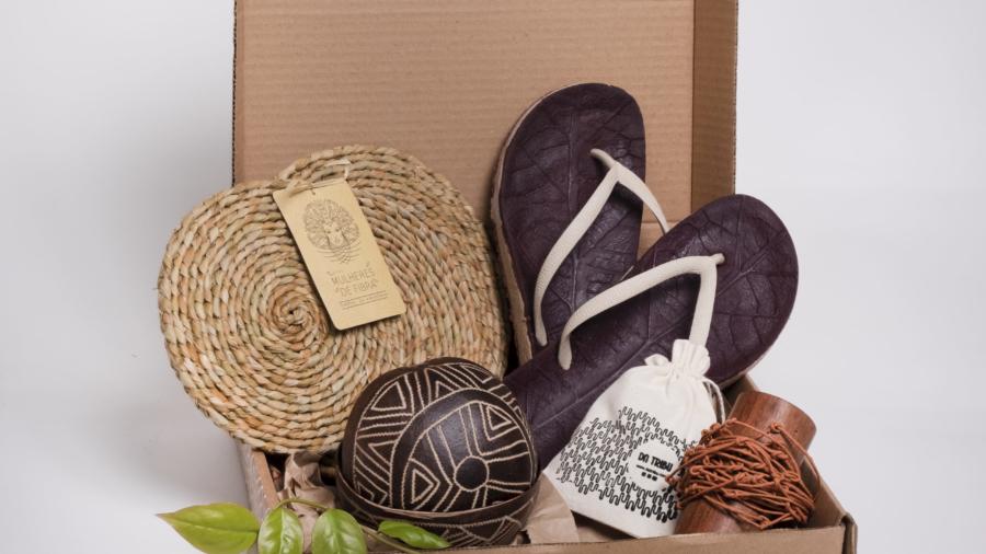 Foto: JOZZUU Cesta de produtos amazônicos comercializada em 2020 na plataforma Mercado Livre.
